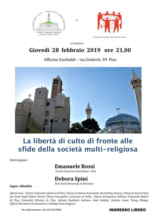 Pisa Calendario.Calendario Incontri 2019 Pisa Gruppo Di Impegno